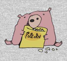 popcorn One Piece - Long Sleeve