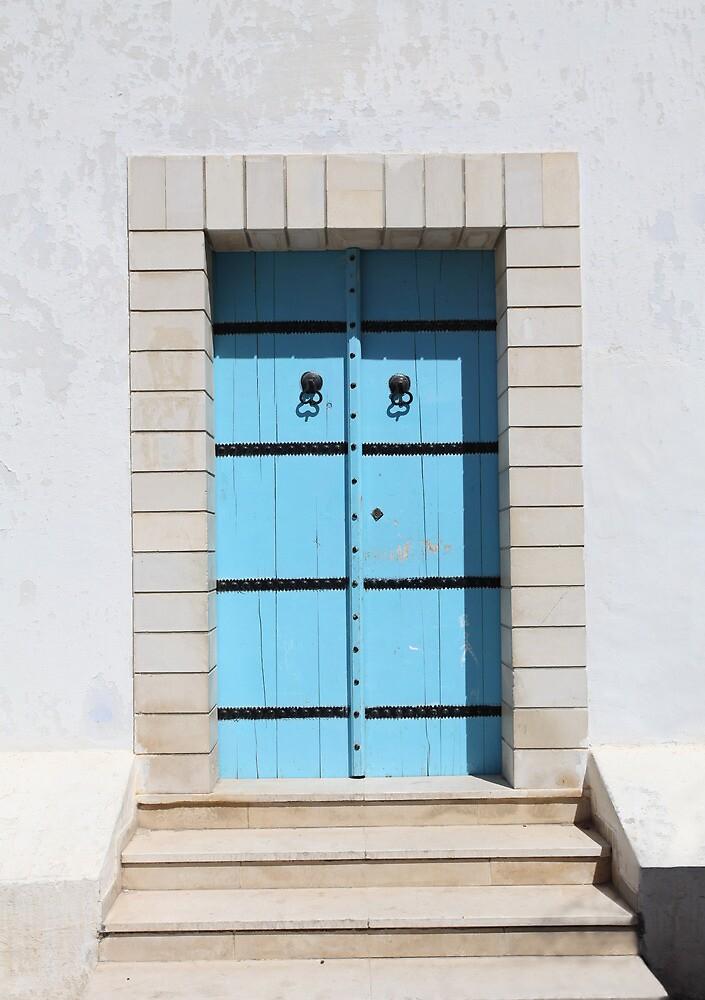 old blue door by mrivserg