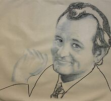 bill murray 1 by Peter Brandt