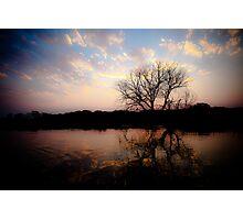Sunset on the Okavango River Photographic Print