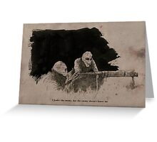 Battle Rats Greeting Card