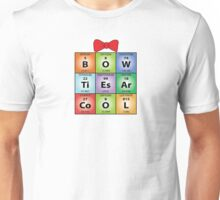 Bow ties chemical elements Unisex T-Shirt