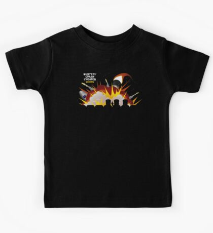 Mystery Crash Theater with Logo Kids Tee