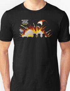 Mystery Crash Theater with Logo Unisex T-Shirt