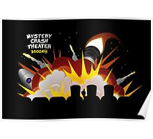 Mystery Crash Theater with Logo Poster