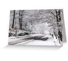 Granby Wood Greeting Card