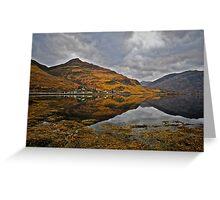 Loch Duich, West Coast of Scotland. Greeting Card
