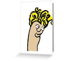 dude .... dude doooood Greeting Card