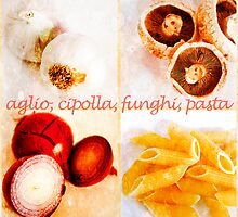 Italian food ingredients by Andrew Robinson