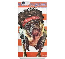 bruce pugsteen iPhone Case/Skin