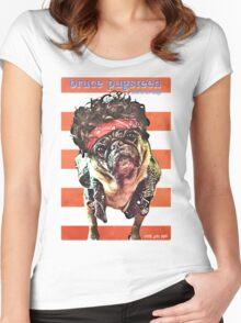 bruce pugsteen Women's Fitted Scoop T-Shirt