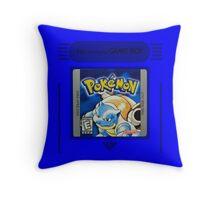 Pokemon Blue Cartridge Pillow Throw Pillow