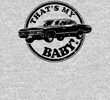 That's My Baby - Black Womens Fitted T-Shirt