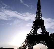 Eiffel Tower at Sunset  by HazardousCoffee