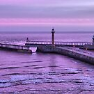 Sunrise over Whitby by Lilian Marshall
