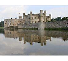 Castle Reflection Photographic Print
