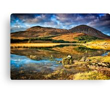 The Red Cuillins Canvas Print