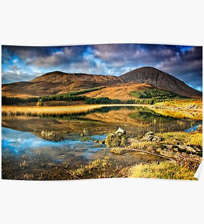 The Red Cuillins Poster