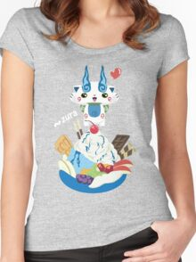 Ice Cream Komasan Women's Fitted Scoop T-Shirt