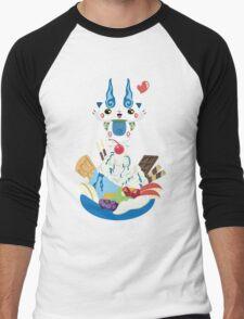 Ice Cream Komasan Men's Baseball ¾ T-Shirt