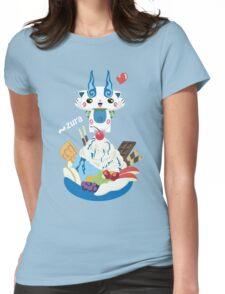 Ice Cream Komasan Womens Fitted T-Shirt