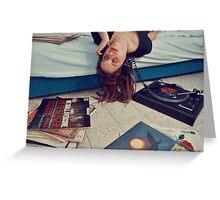 music. Greeting Card