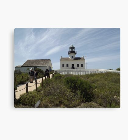 Historic Old Point Loma Lighthouse Canvas Print