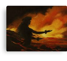 Pele Rejoicing Canvas Print