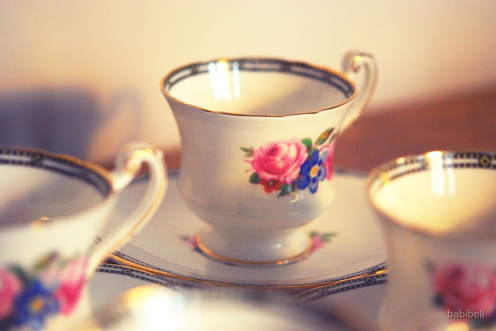 Tea cup by Claire Dimond