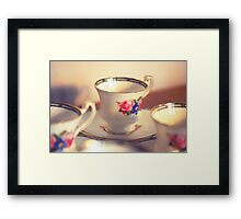 Tea cup Framed Print