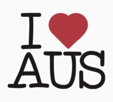 I Heart AUS by Vana Shipton