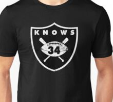 "VICTRS ""34 Knows""  Unisex T-Shirt"