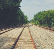 Long Railroad Sticker