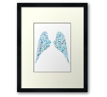 Angel of the Lord. Framed Print
