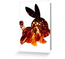 Tepig used Incinerate Greeting Card