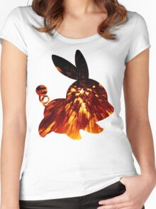 Tepig used Incinerate Women's Fitted Scoop T-Shirt