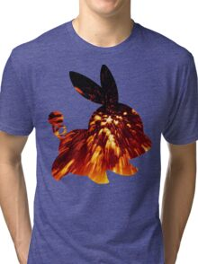 Tepig used Incinerate Tri-blend T-Shirt