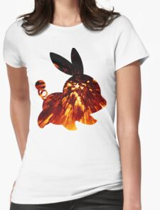 Tepig used Incinerate Womens Fitted T-Shirt