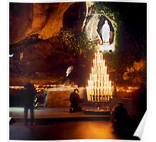 Sanctuary of Lourdes, France 2005 Poster
