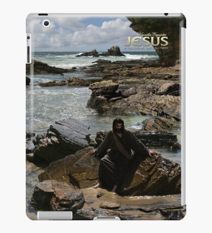 Jesus: If you love Me, that's all I need (iPad Case) iPad Case/Skin