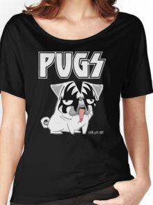 kiss pug Women's Relaxed Fit T-Shirt