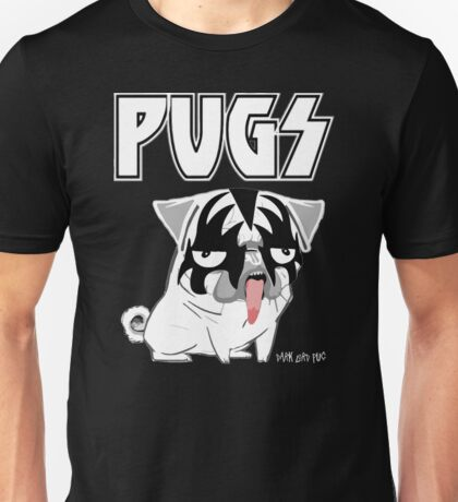kiss pug Unisex T-Shirt