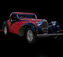 1937 Bugatti Type 57 SC Atalante Coupe w/o ID by DaveKoontz