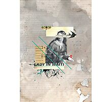 Lady in Waiting Photographic Print