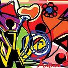 Exuberance  - Joie de Vivre  by Anthea  Slade