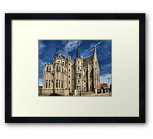 Episcopal Palace of Astorga, Gaudi Framed Print