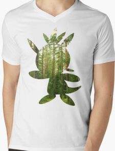 Chespin used Growth Mens V-Neck T-Shirt