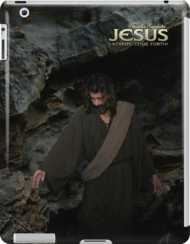 Jesus: Lazarus, come forth! (iPad Case) by Angelicus