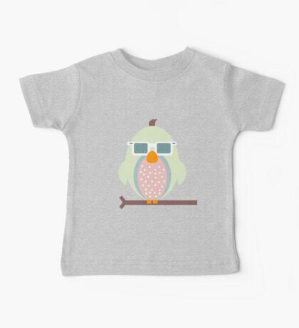 Cool Owl Baby Tee