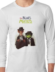 The Blues Muppets Long Sleeve T-Shirt